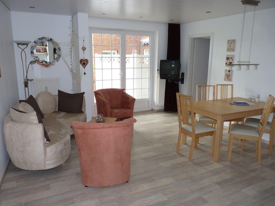 Seehund-Wohnung Wohnbereich