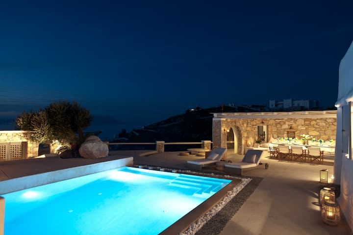 Mykonos Cloud White Villa