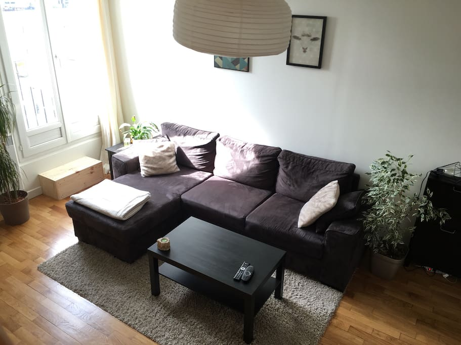 Our nice and cosy living-room