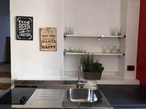 Mini appartamento a Rivergaro