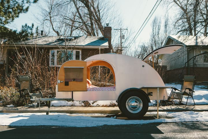 A Teardrop Trailer named Totoro.