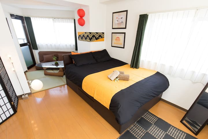 StunningViewROOM Ikebukuro 4min STA  with Wi-Fi!71 - 豊島区