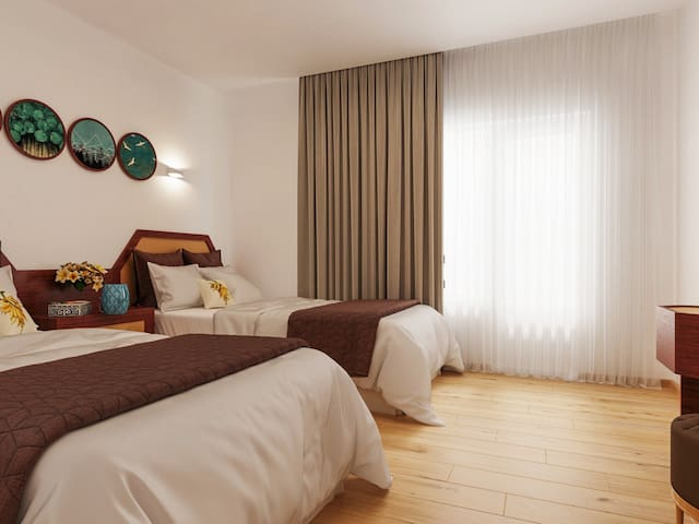 KEMER boutique hotel 250mt to the sea side.