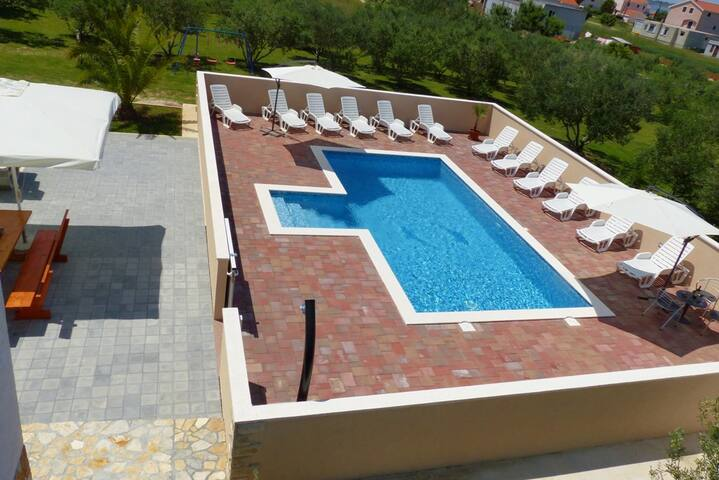 HOUSE STIPE WITH POOL - Vrsi - House