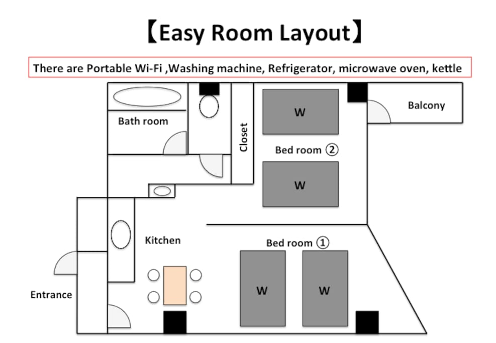 Easy Layout Room
