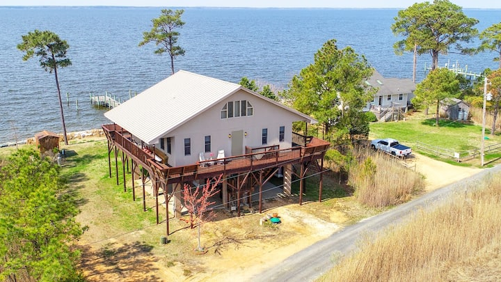 St George Island Waterfront House