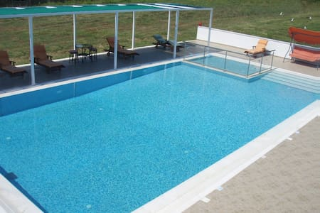 Parisis Villas with Pool ideal for Groups. - Troulos - Appartement