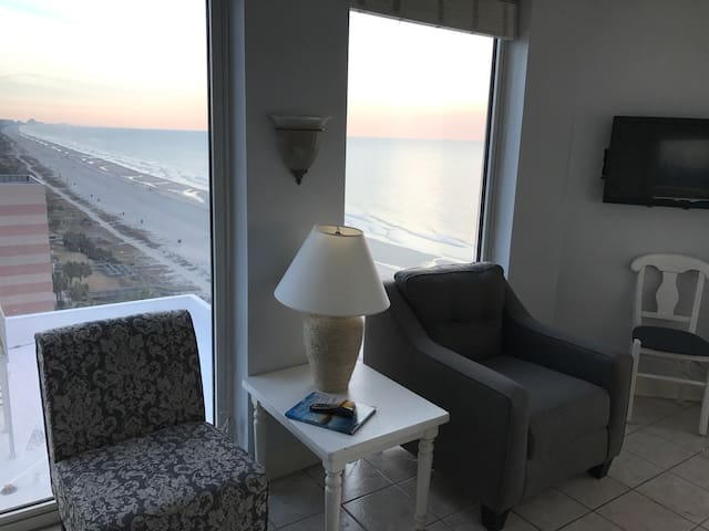 2 Bedroom Ocean Front Penthouse Condo (sleeps 8)