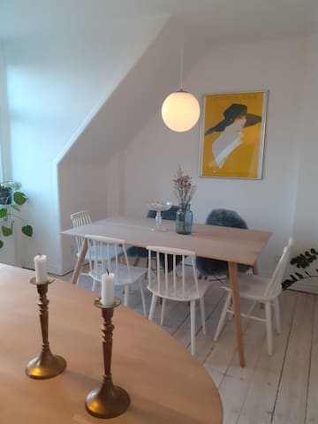 Charmerende lejlighed på Frederiksberg