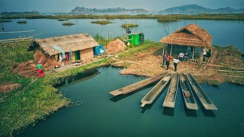 Loktak Aquamarine Floating Homestay and Campsite