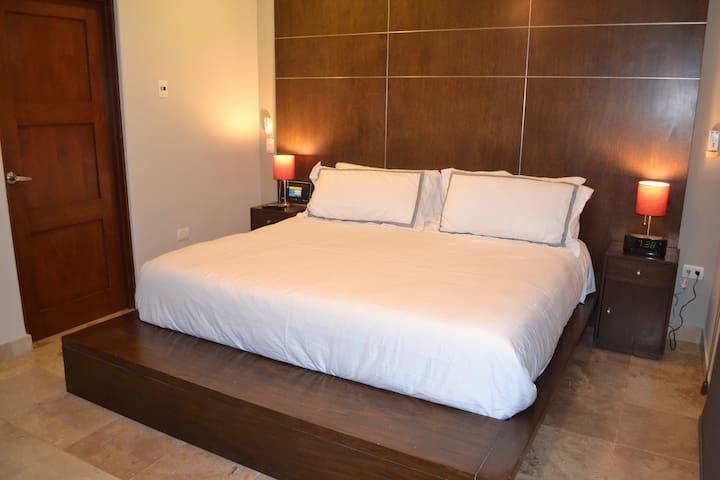 Master bedroom with large en-suite