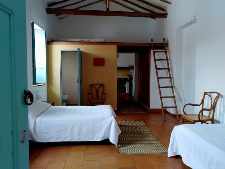 Apartamento en casa Amancay