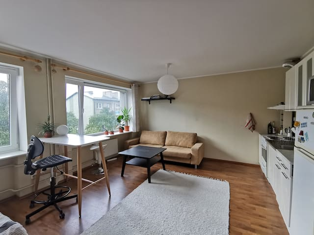 Cozy home office at the heart of town
