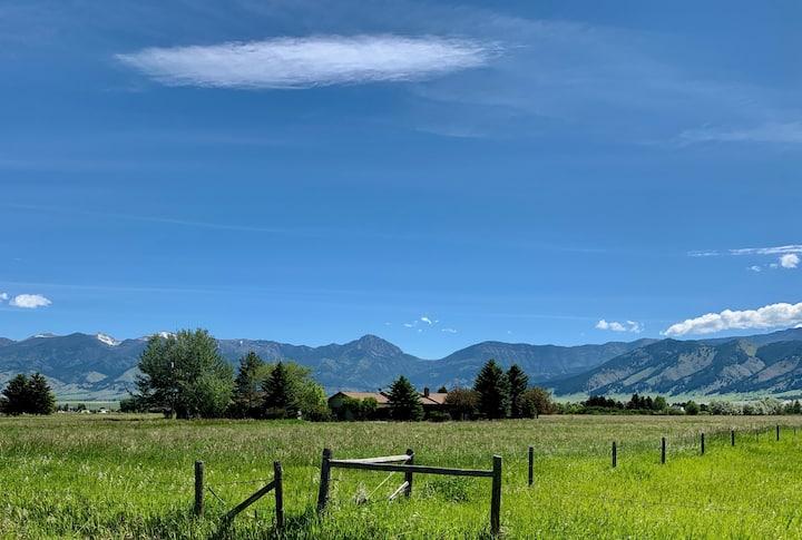 Enjoy Montana Ranch Home near Bozeman & Big Sky!