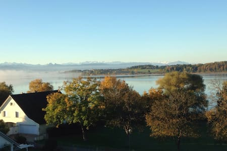 Best Lake View in Switzerland/18.2m2 Private Room
