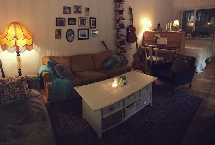 Lägenhet i centrala Luleå. Hyrs ut natt för natt.