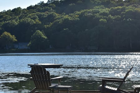 Swim, Kayak, Row boat, Volleyball, Hammock...