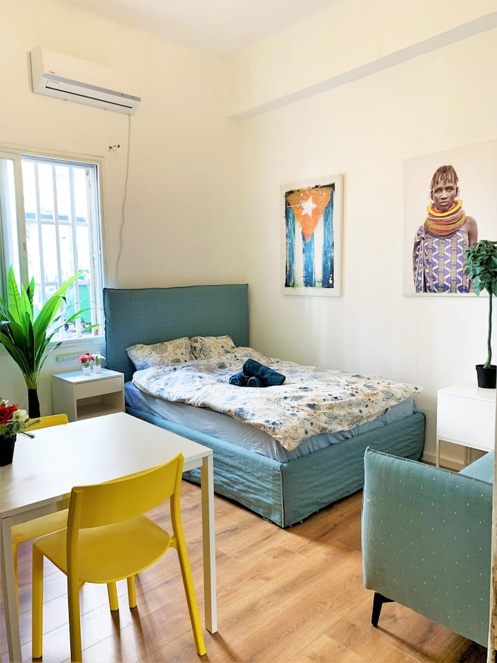 beautiful studio apt florentin 2