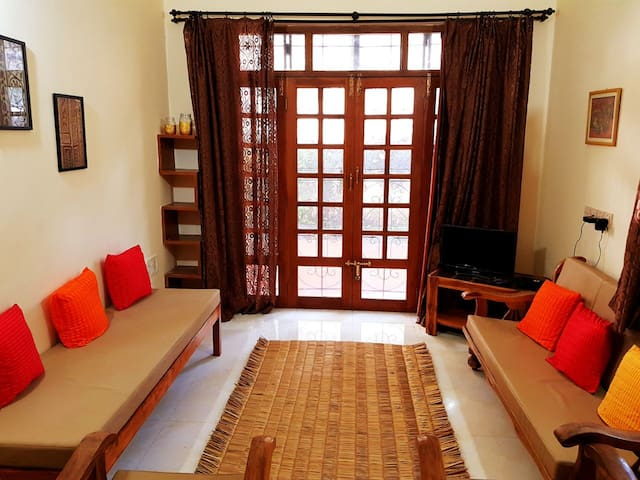Holiday Home in North Goa,1BHK Luxurious Furnished
