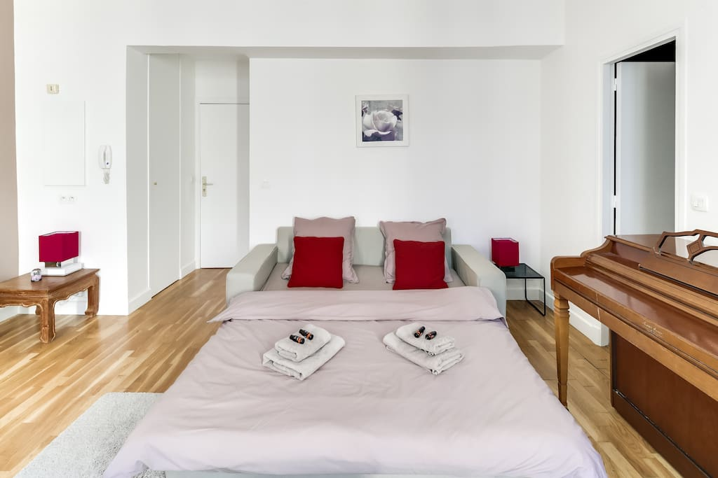 Spacious flat, perfect for a couple