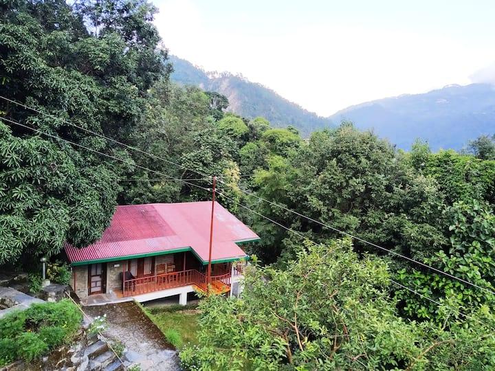 Silent Valley Alchauna-Kumaoni House I along river