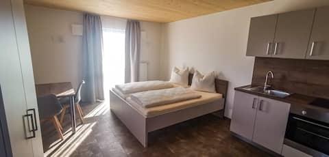 Modernes Apartment Zweibett- oder Doppelzimmer No1