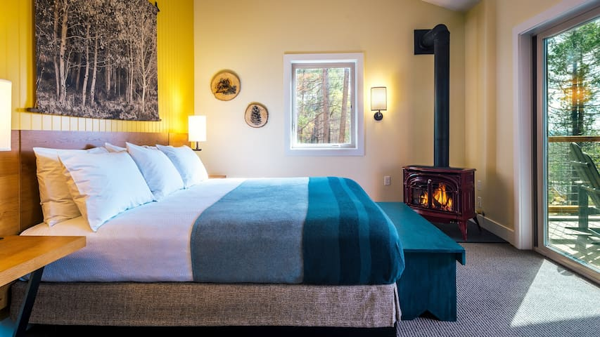 To encourage an authentic and rewarding mountain experience, we're a little different from what you might expect from most Yosemite hotels. Rooms are supplied with games and radio streaming for entertainment, rather than televisions.