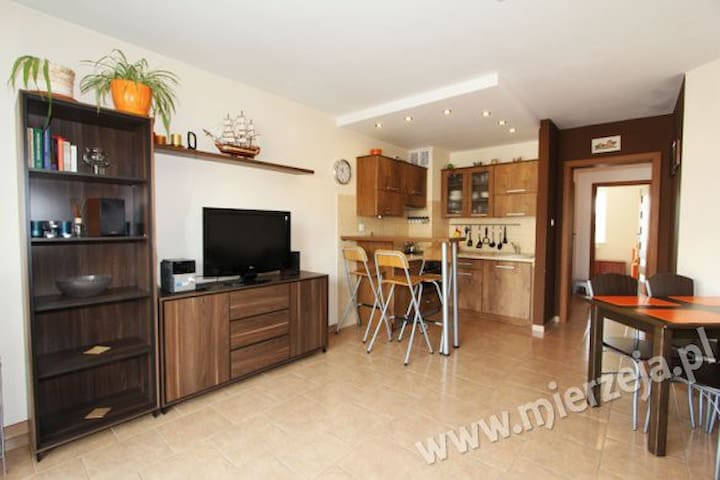 Comfy Apartment with rooftop terrace - Jantar - Apartment