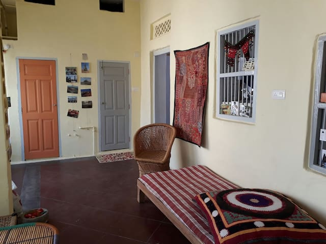 Renovated spacious flat in town - Ram Ram Haveli - Udaipur - Szeregowiec