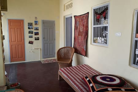 Renovated spacious flat in town - Ram Ram Haveli - Udaipur - Rumah bandar