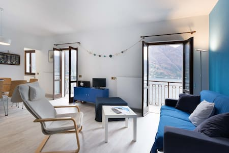 Lavarell House -best lake view with private GARDEN - Nesso - 公寓