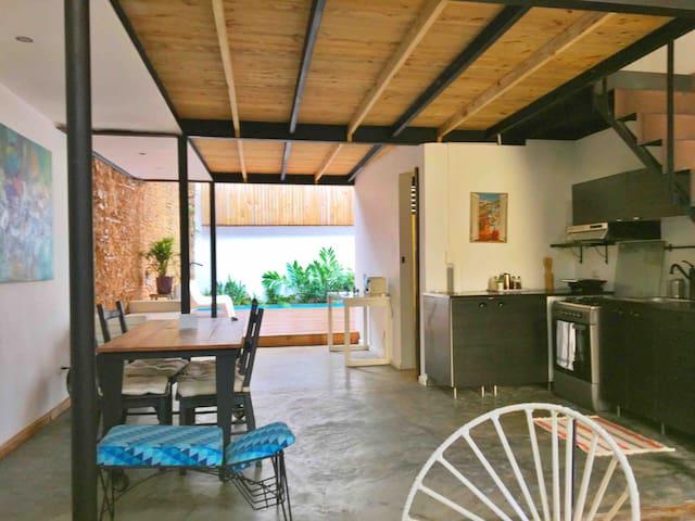 Loft con piscina privada , Zona Colonial.