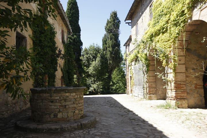 al Castellare: antico casale nel cuore del Chianti - Siena - Apartment