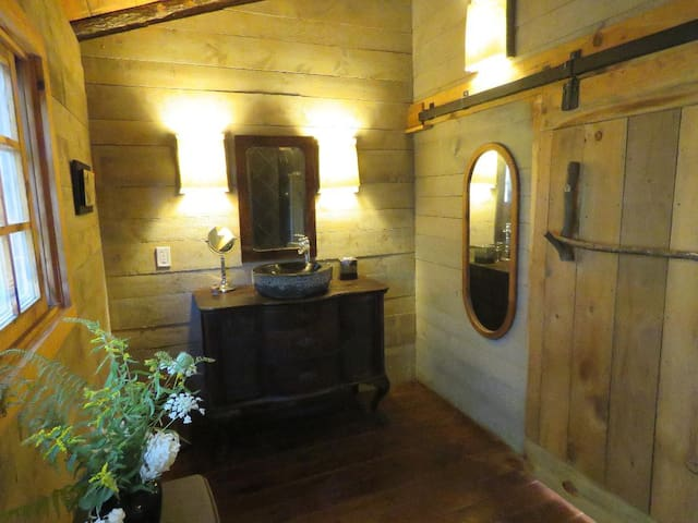 Blue Hills Farm Glamping Tent complete w/Bathroom