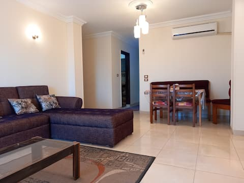 cozy 2-bedrooms condo , two living rooms , free parking and air conditioning in all the apartment