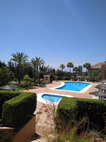 The View Of The Pool From The Terrace