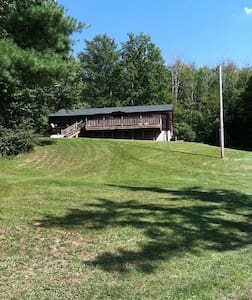 Log Home Rental Overlooking Lime Lake Near Ellicottville, NY