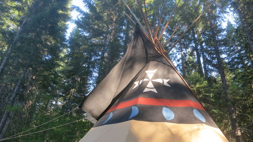 TIPI CAMP-Family Friendly  Hideaway - Trout Lake