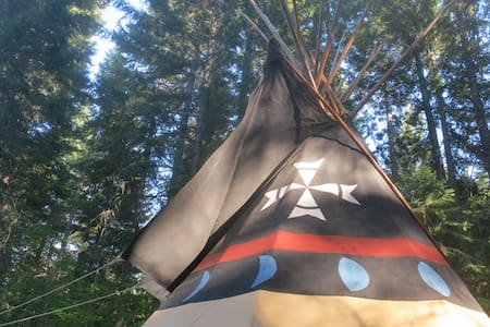 TIPI CAMP-Family Friendly  Hideaway - Tipi