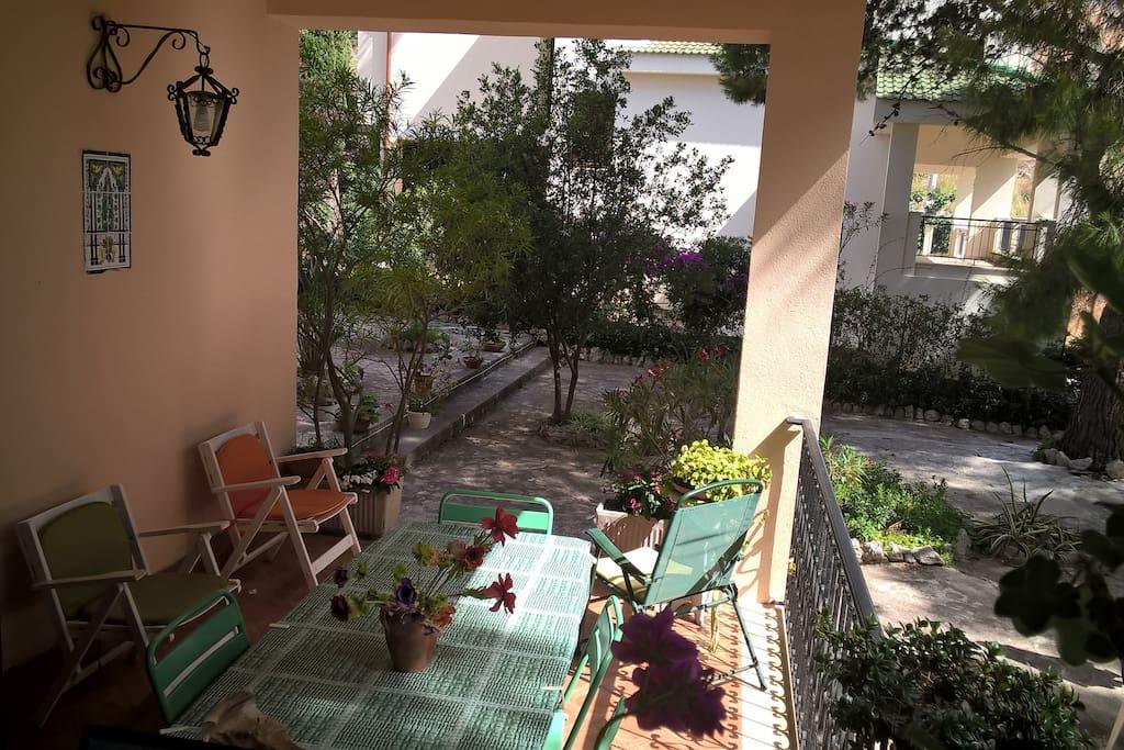 veranda zona colazioni