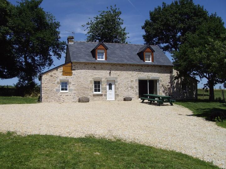 Maison dans la prairie 7-12 couchages A-Mancelles