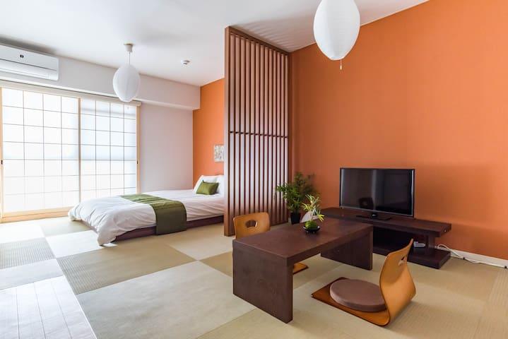 ■到日本桥3分钟■1R30㎡/设计套房/Bijou Suites AKARI#203