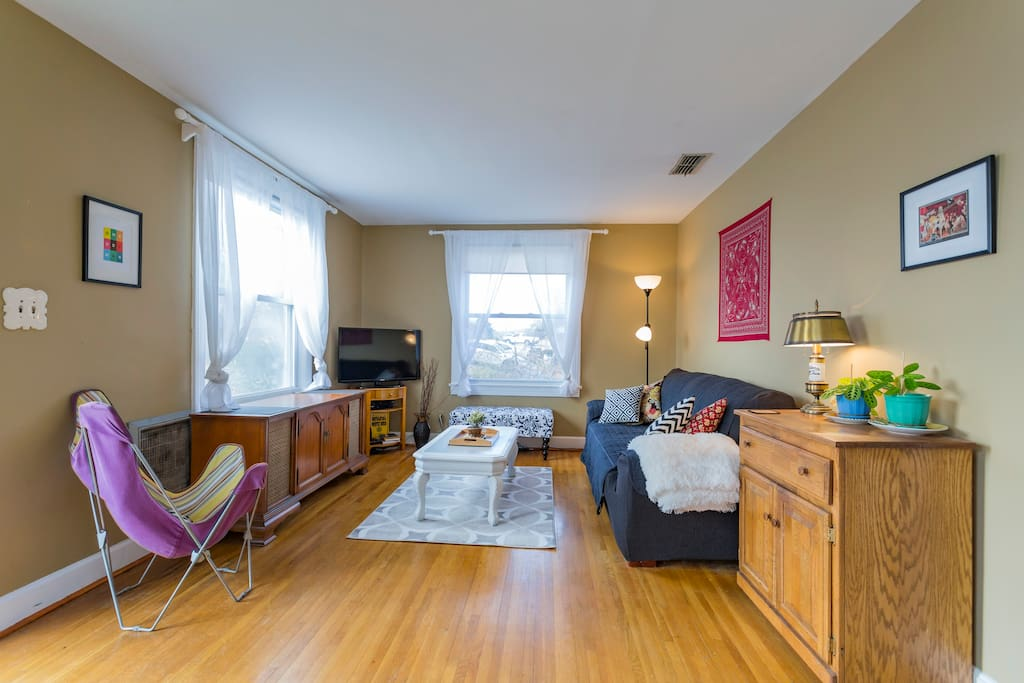 Quirky One Bedroom Duplex On Half An Acre Apartments For Rent In Nashville Tennessee United
