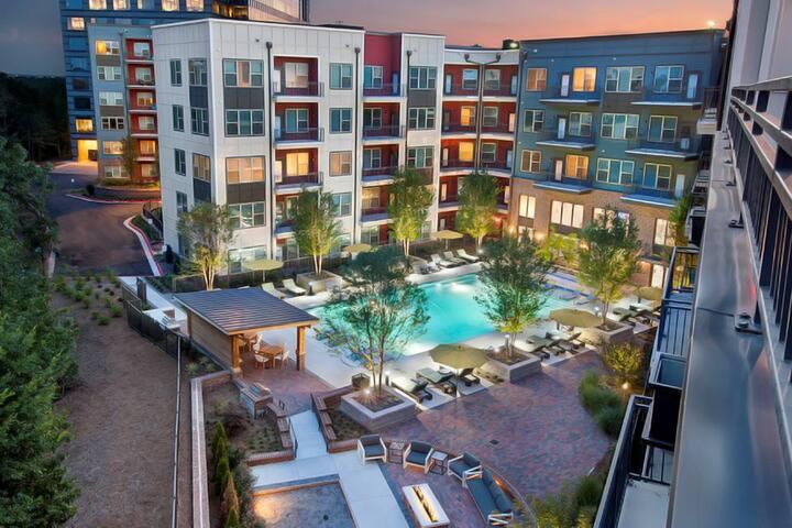 Luxury 1 bedroom apt in Vinings~Lots of amenities!