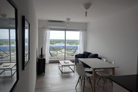 New Apartment with view to the river. 15th floor