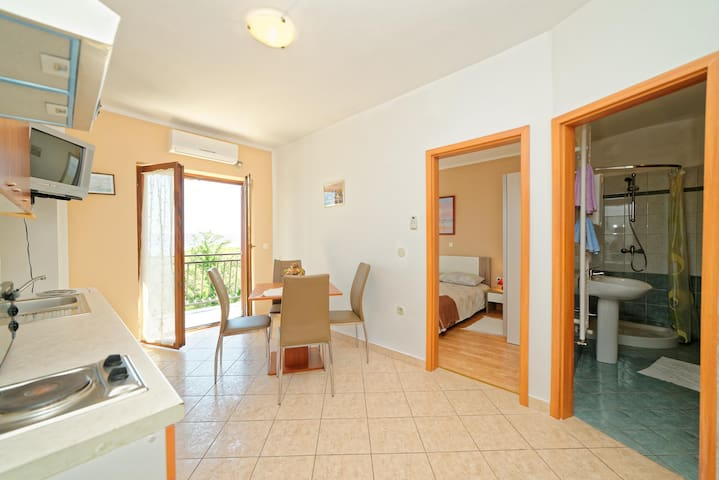Apartments Klaudio / A3 One bedroom - Labin - Lägenhet
