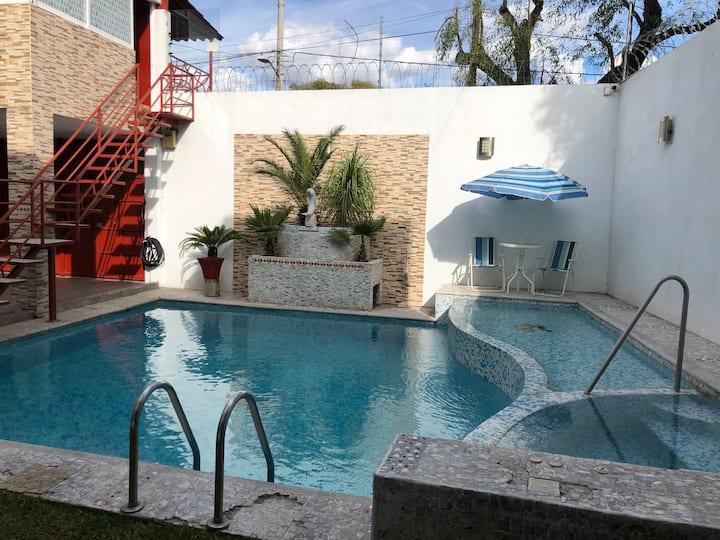 Hermosa Casa con Alberca en Atlixco. Sólo Familias