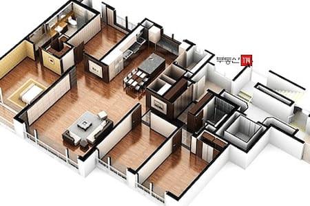 Koinonia Haus 54평+,침대12, 방4,욕실2.5,가족,그룹,회사,워크샵,세미나