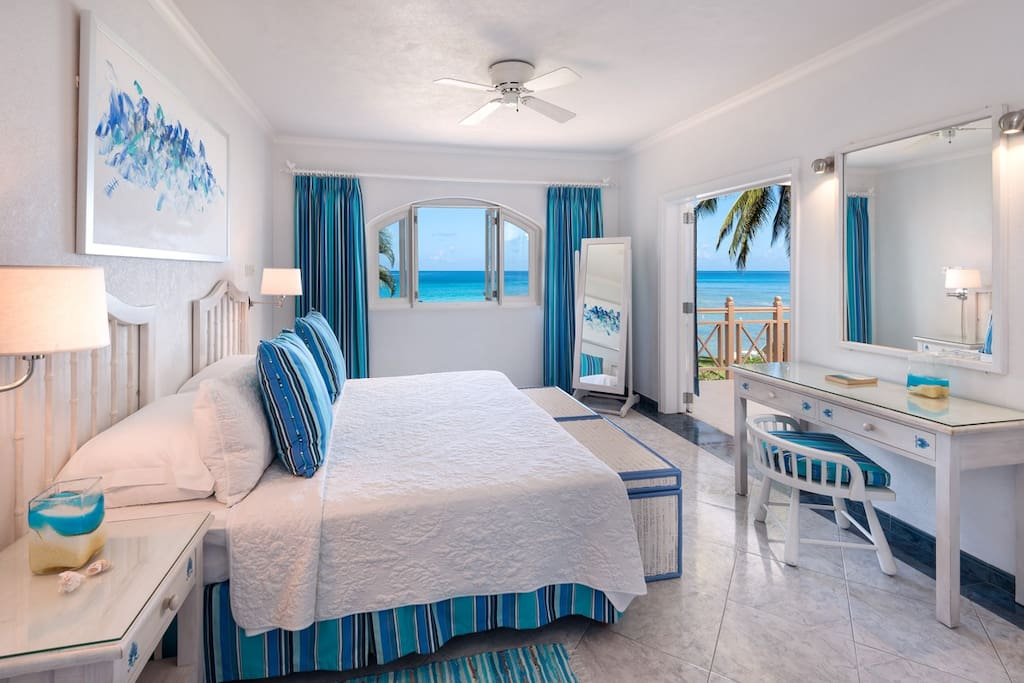Reeds House 1 (3 bed) - Lovely bedrooms with ocean views