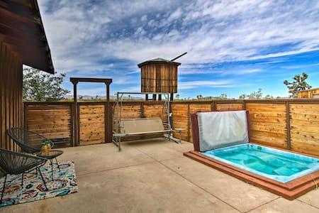 Custom Cottage w/ Hot Tub & Pool - By Joshua Tree!